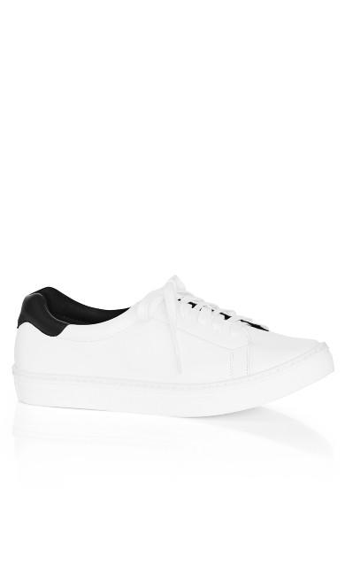 Plus Size Carrie Sneaker - black