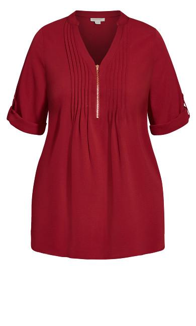 Piper Shirt - cerise