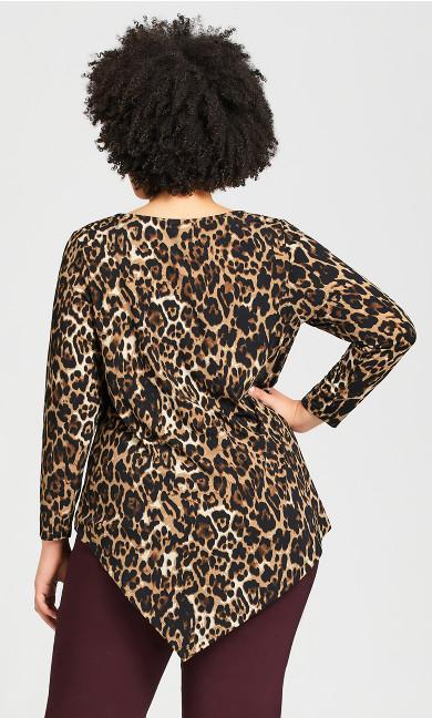 Erica Top - leopard