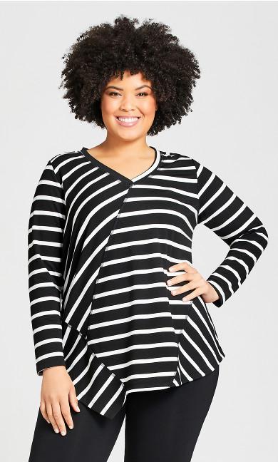Plus Size Mia Top - black