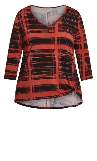 Rayna Top - red