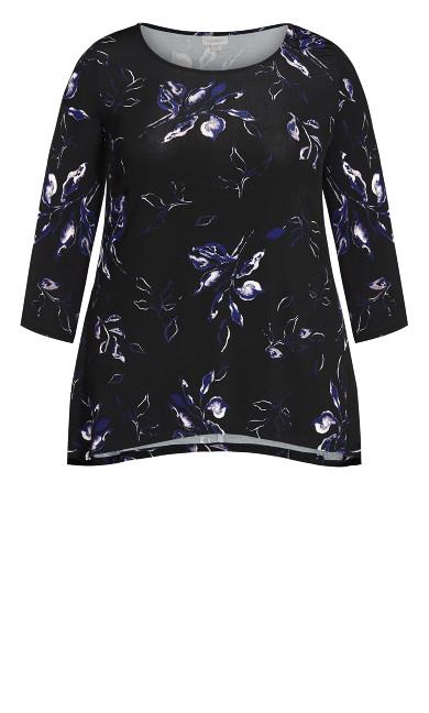 Alana Tunic - black floral