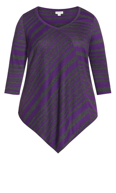 Bonnie Tunic - purple