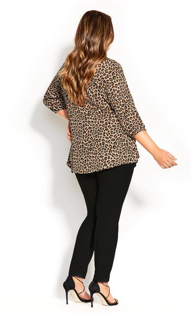 Cheetah Fling Top - cheetah