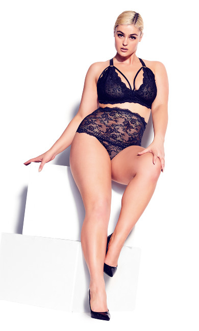 Sophie Strappy Bralette - black