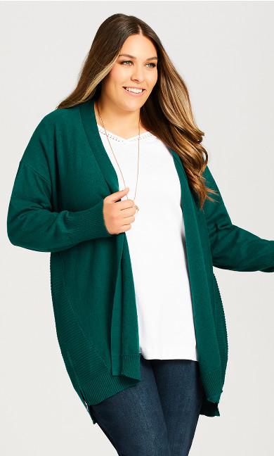 Plus Size Grace Cardi - jade
