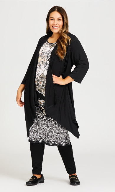 Plus Size Everly Dress - black
