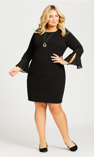 Plus Size Felicity Dress - black