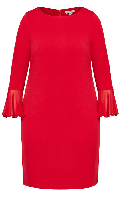 Felicity Dress - red