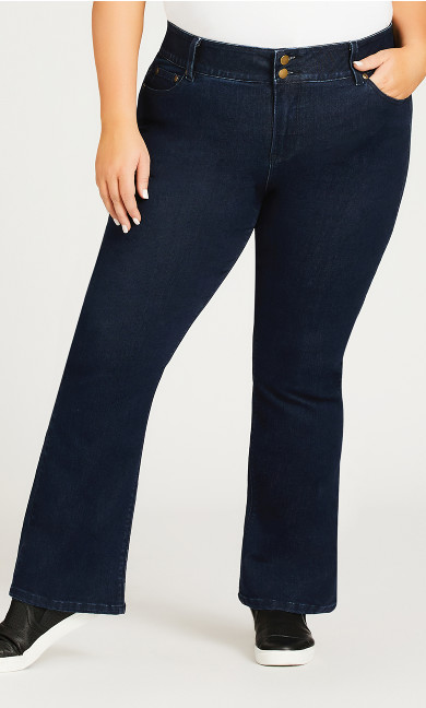 Clarissa Jean Dark Wash - average