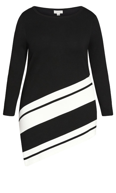 Ivory Sweater - black