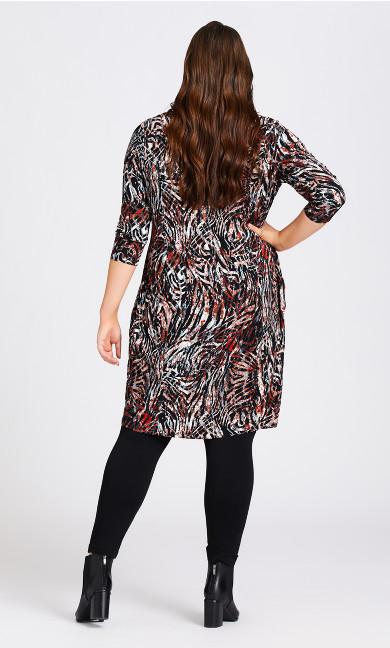 Wren Print Dress - animal