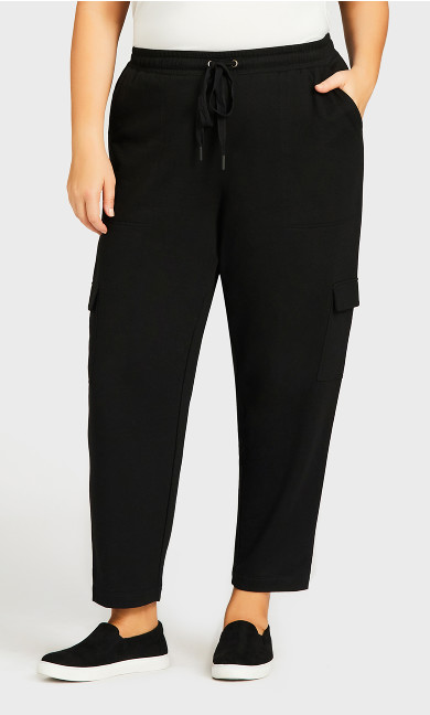 Lounge Pant Black - average