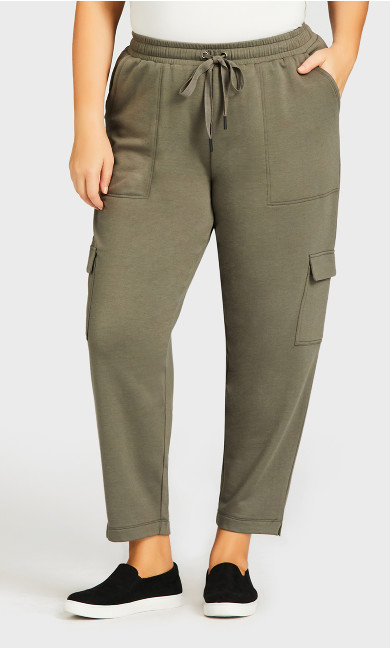Lounge Pant Khaki - average