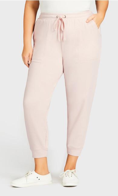 Pocket Lounge Pant Pink - average