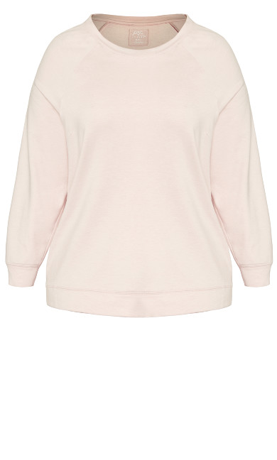 High Low Lounge Top - pink