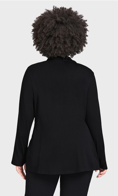 Zip Swing Jacket - black