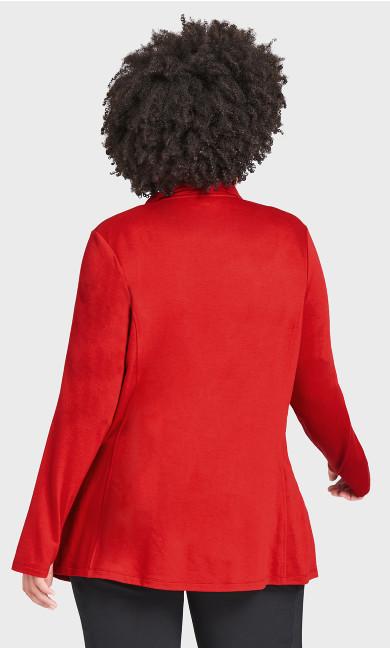 Zip Swing Jacket - red