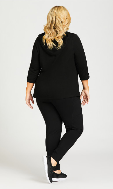 Legging Pocket Full Length Black - average