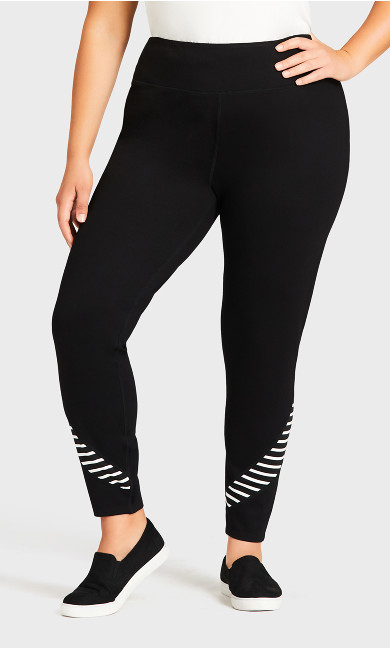 Legging Splice Black - average