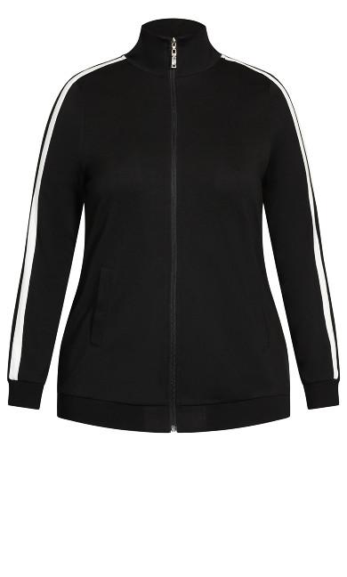 Active Zip Jacket - black