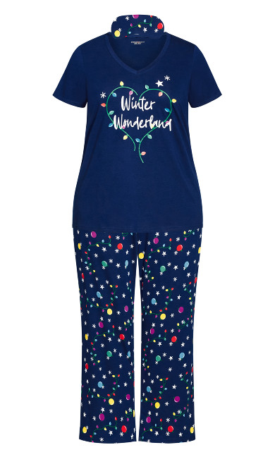 Winter Sleep Set - navy
