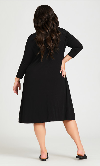 Lylah Dress - black
