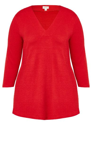 Tegan Top - red
