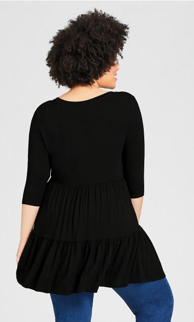 Amaya Tunic - black