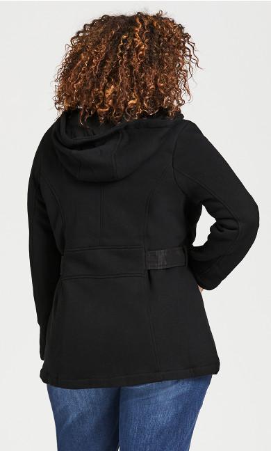 Fleece Parka - black