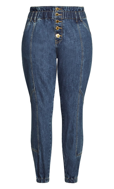 Harley Stitch Jean - mid denim
