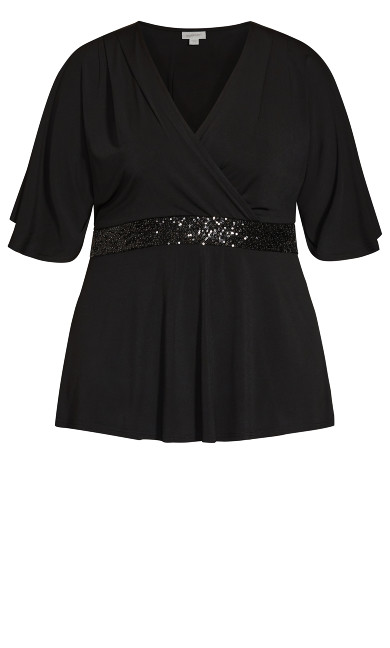 Elyse Top - black