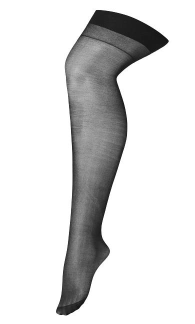 Mid Thigh Stockings - black