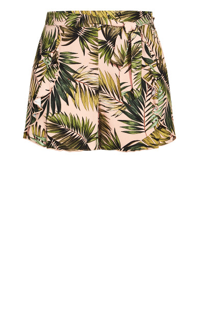 Miami Palm Short - pink