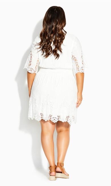 Lust Crochet Dress - ivory