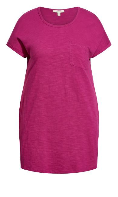 Summer Day Dress - fuchsia