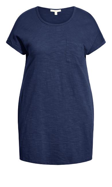 Summer Day Dress - navy