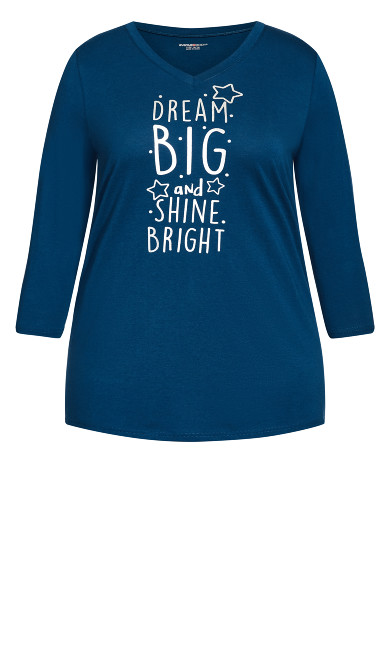 Dream Big Top - navy