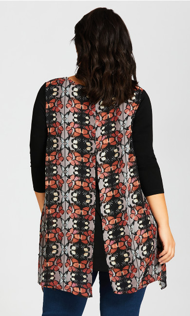 Harbor View Tunic - black