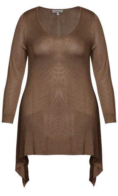 Alderly Edge Sweater - chino