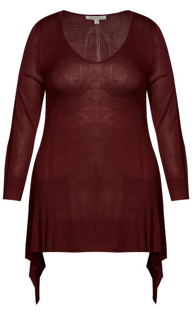 Alderly Edge Sweater - plum