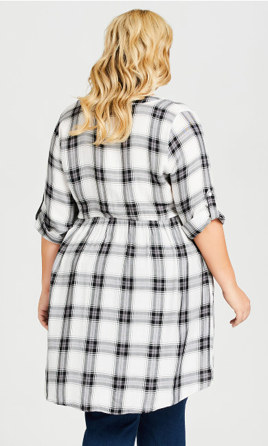Pleasant Shirt - black white check