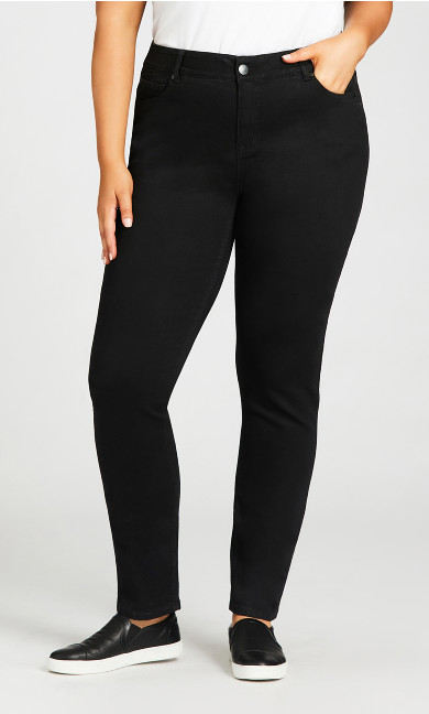 Fashion Skinny Jean Black - tall