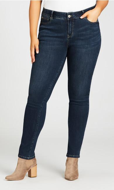 Fashion Skinny Jean Dark Wash - tall