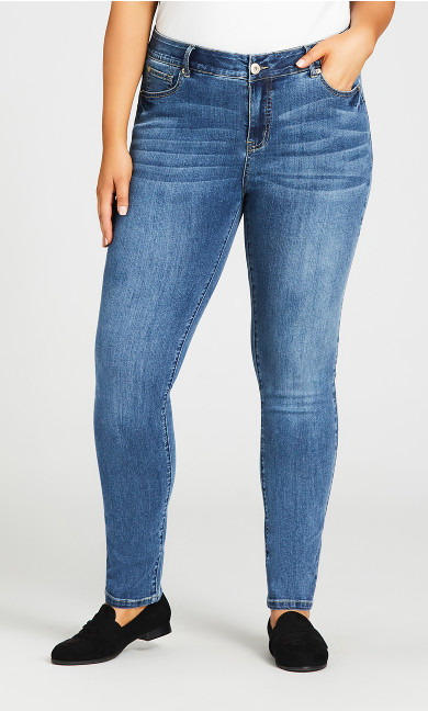 Fashion Skinny Jean Light Wash - tall