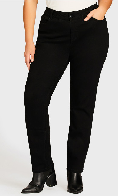Fashion Skinny Jean Black - average