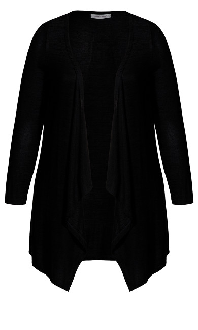 Eaton Cardigan - black