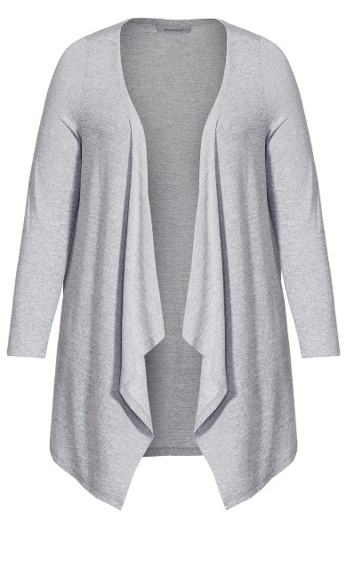 Eaton Cardigan - gray