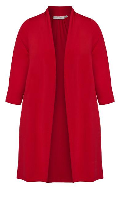 Aria Jacket - ruby