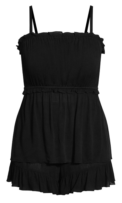 Grace Cami Set - black